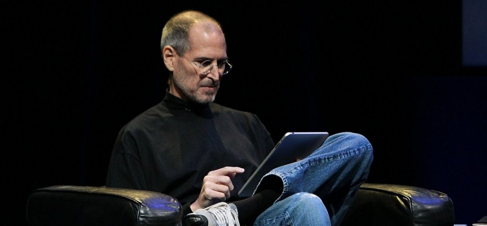 Steve Jobs odiaba trabajar desde casa, pero eso es solo la mitad de la imagen
