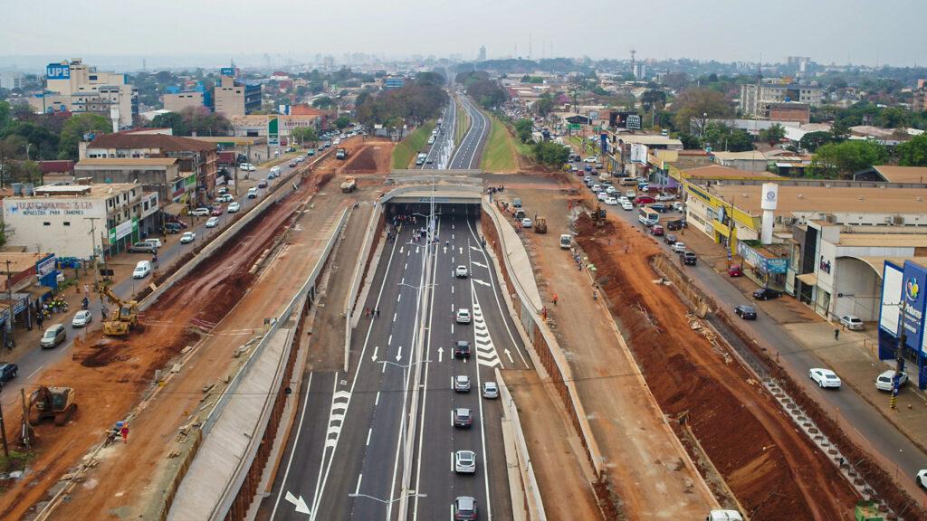Concluye primera etapa del multiviaducto y se habilita el paso vehicular sobre la Ruta PY02