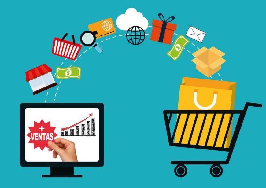 Venta de productos a través de plataformas online