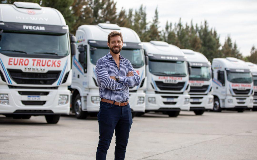 Eurotrucks apuesta al comercio internacional con camiones a GNC de IVECO