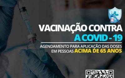Foz de Iguazú reanuda la vacunación contra el covid-19 en ancianos de 65 años