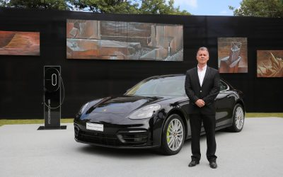 Arribó a Paraguay el nuevo Porsche Panamera