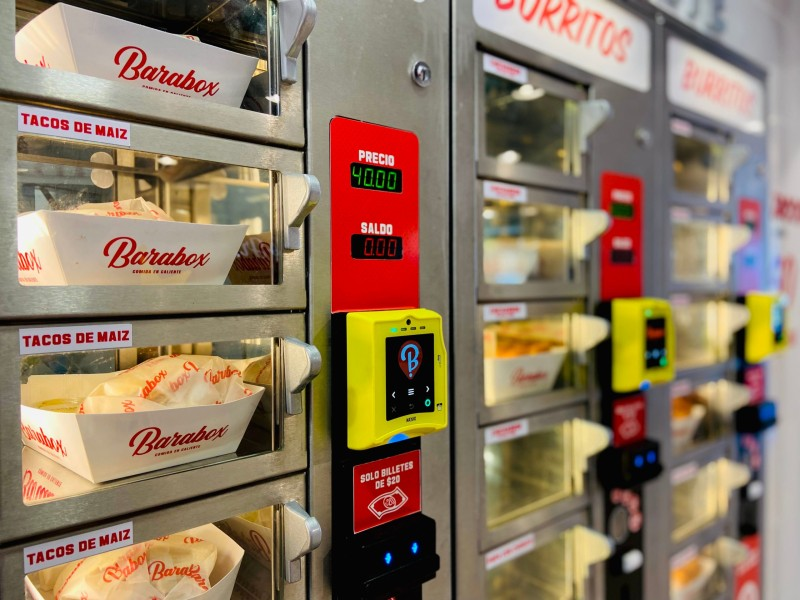 Al estilo asiático: conoce el nuevo modelo de venta de alimentos por máquinas expendedoras