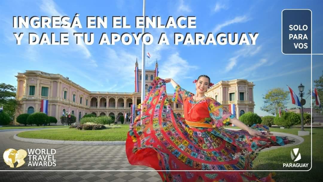 Paraguay está nominado a los premios del Turismo Mundial 2021