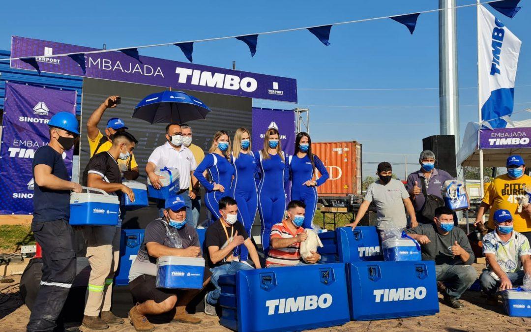 """Camioneros agasajados en su día de la mano de """"La Embajada TIMBO"""""""