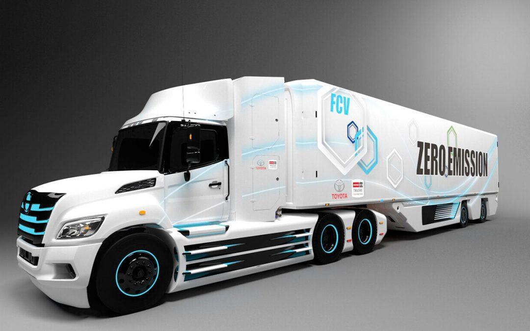 Toyota quiere fabricar en serie módulos de pila de combustible de hidrógeno para camiones a partir de 2023